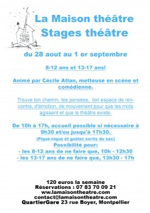 stage aout